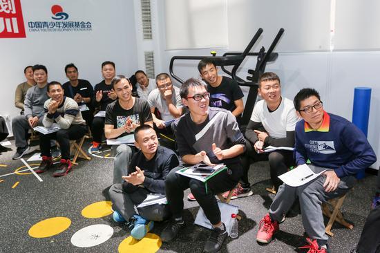 """营养健康活力计划""""体育教师培训在京举办"""